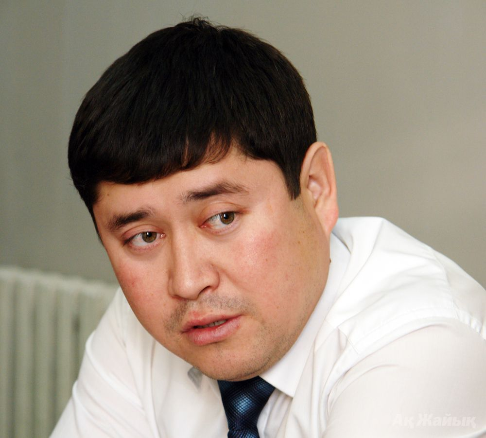 Yerbol Kuanov, Head of Ecology of Atyrau Oblast