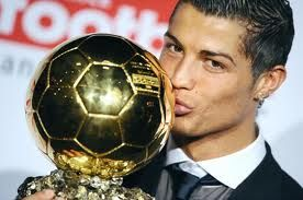 Cristiano Ronaldo has won the FIFA Ballon d'Or (Golden Ball) award for 2013