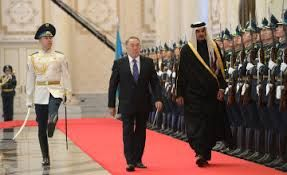 Visit of Emir of the State of Qatar to Kazakhstan in 2014, January 19