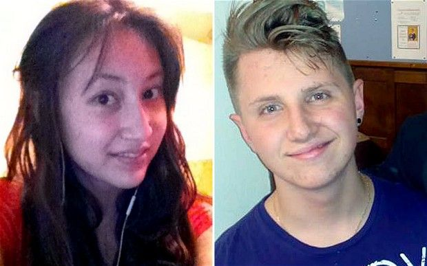 Edward Bunyan and Indira Gainiyeva, both aged 16, disappeared from Stonyhurst College in Clitheroe, Lancashire, in the early hours of Monday morning