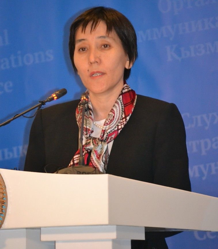 Tamara Duisenova, RoK Minister of Labour and Socil Protection