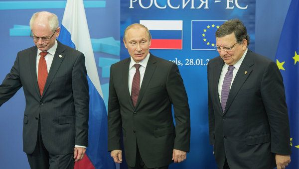 Putin said the next EU-Russia summit would be held on June 3 in the southern Russian city of Sochi