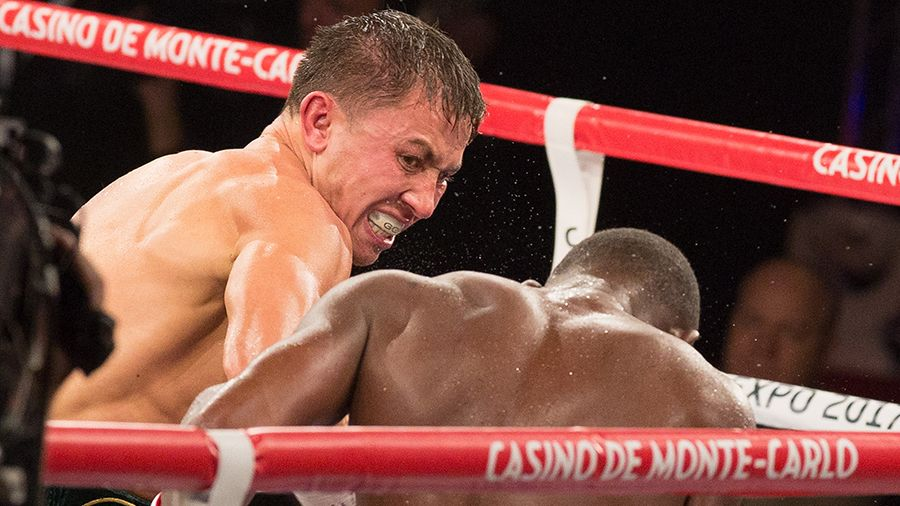 Gennady Golovkin forced his opponent to tumble three times © Getty Images