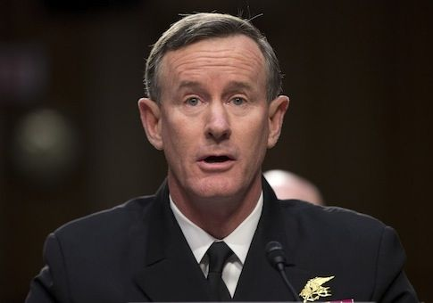 Adm. Willian McRaven/AP