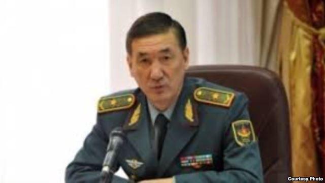 Kazakh Deputy Defence Minister Bagdat Maikeev