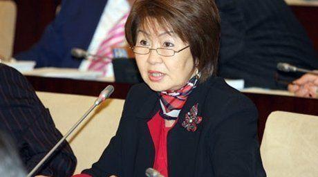 Senator Svetlana Dzhalmagambetov