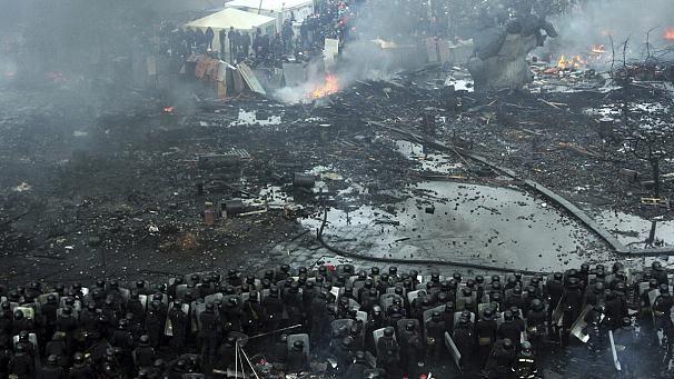 Kiev, Maidan. February 20, 2014.