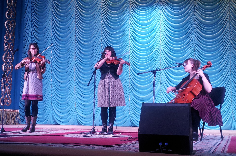 Cortese & the Dance Cards Trio in Atyrau Drama Theatre, Feb 17, 2014.
