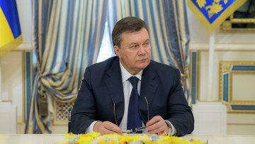 Viktor Yanukovich. © RIA Novosti.