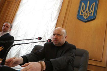 Aleksandr Turchinov, Acting President of Ukraine.