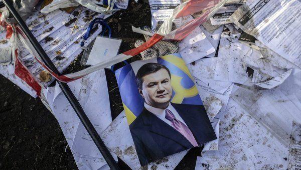 Ukraine Asks Russia to Extradite Yanukovych