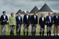 G8 Summit participants. Photo: AFP