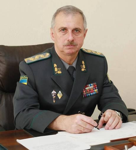 Head of the State Border Service, Colonel General Mykhailo Kovalev