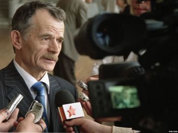 Head of the Mejlis Mustafa Dzhemilev.