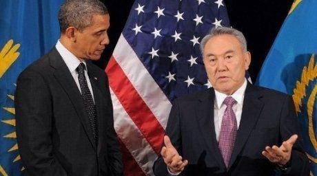 Barak Obama and Nursultan Nazarbayev. Photo:AFP©