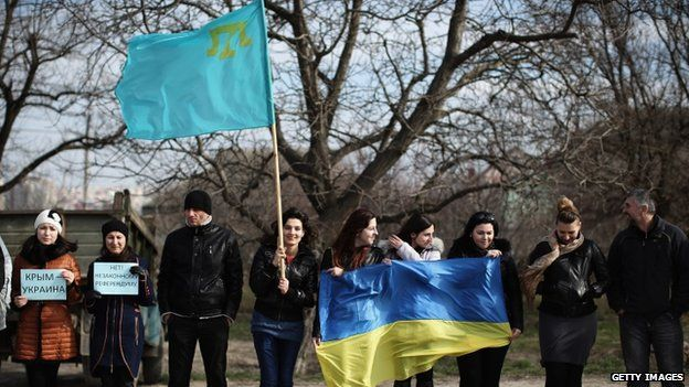 Crimean Tatars say they want the peninsular to stay with Ukraine, fearing further deportations