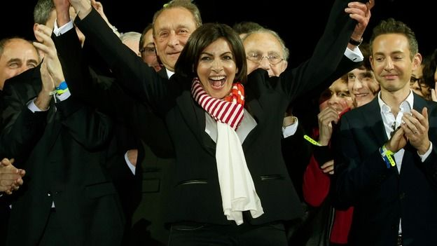 Retaining Paris, which will now be governed by Anne Hidalgo, was a consolation price for France's governing Socialist Party, which suffered major losses in Sunday's municipal elections