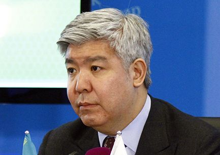 Nurlan Kapparov, RoK Environmental Minister