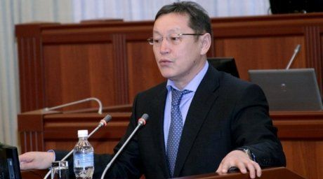 Acting Minitser of Energy and Industry Osmonbek Artykbayev.Photo©kenesh.kg