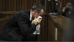 Oscar Pistorius in the court