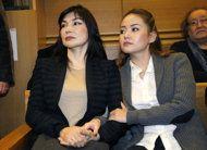 Alma Ablyazov (left) and Madina Ablyazov.