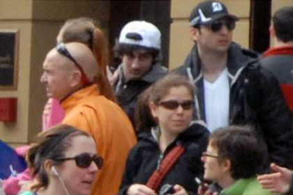 Tsarnaev brothers spotted by CCTV.