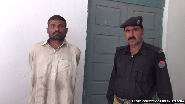 Mohammad Arif Ali (left) in police custody, 14 April 2014 Mohammad Arif Ali was arrested on Monday on suspicion of cannibalism