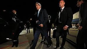 US Secretary of State John Kerry arrived to Geneva today for talks between top foreigh ministers on Ukrainian crisis..
