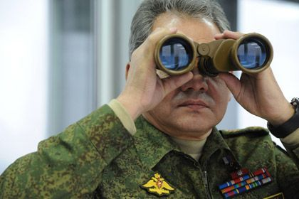 Russian Defense Minister Sergei Shoigu. Photo:RIA Novosti.