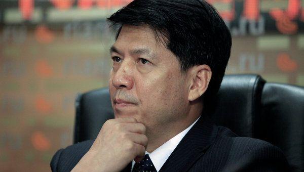 Chinese Ambassador in Russia Li Hui.