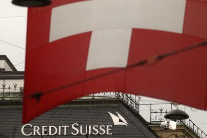 Credit Swiis. Photo:Reuters