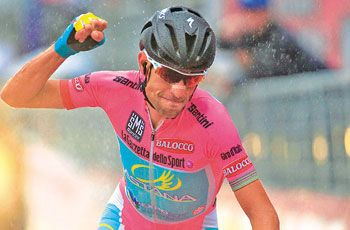 "Last year the winner of Giro'DItali 2013 was the representative of ""Astana"" team Vincenzo Nibali."