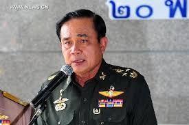 Thailand's army chief General Prayuth Chan-Ocha