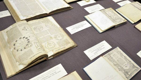 The ancient books and manuscripts from the Schneerson collection (Archive)