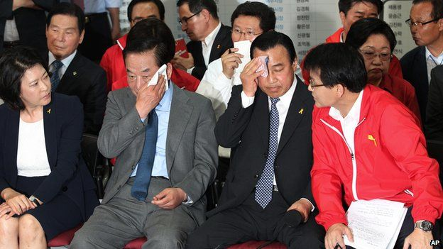 Ruling party officials were relieved at recent local election results