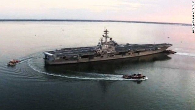 U.S. moves warship to Persian Gulf