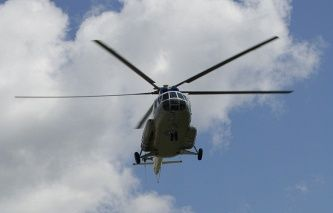 Helicopter crashes in Russia's Far East