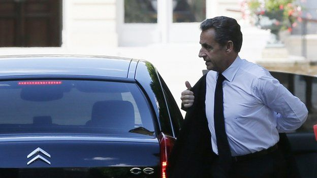 The latest developments are seen as a blow to Mr Sarkozy's attempts to stand again for the presidency
