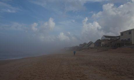 Cape Hatteras awaits hurricane Arthur on Thursday