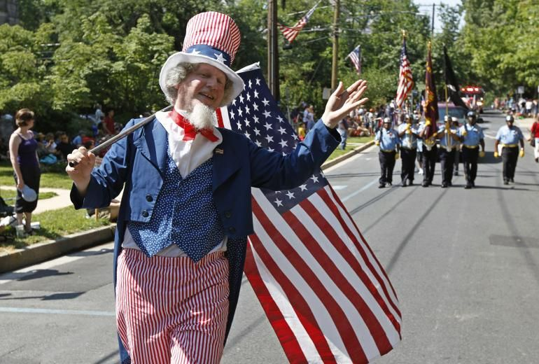 On this day in 1776, the Declaration of Independence was approved by the Continental Congress, setting the 13 colonies on the road to freedom as a sovereign nation. As always, this most American of holidays will be marked by parades, fireworks and backyard barbecues across the country. But there's little about the fireworks and flags that is made in America. Reuters
