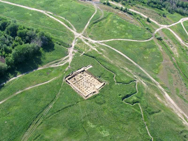 Kayalyk Settlement. © O. Belyalov/Archaeological Expertise Scientific- Research Organization