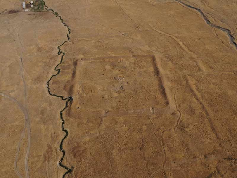 Ornek Settlement. © O. Belyalov/Archaeological Expertise Scientific- Research Organization