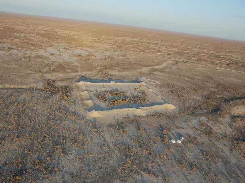 Karamergen Settlement. © O. Belyalov/Archaeological Expertise Scientific- Research Organization