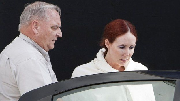 An actress who posted ricin-laced letters to US President Barack Obama and New York Mayor Michael Bloomberg has been given an 18-year prison term.