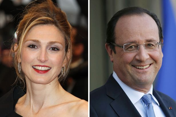Wedding bells: Hollande and Gayet will tie the knot