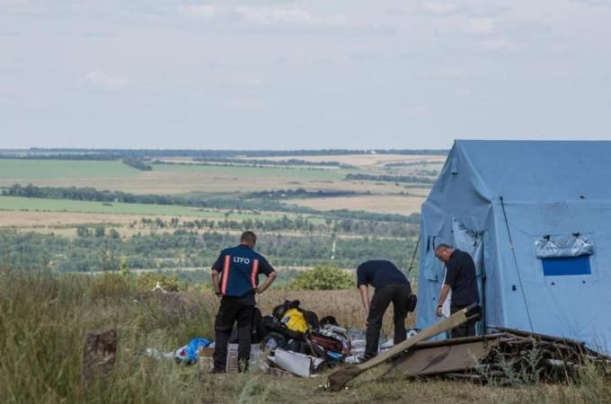 International team charged with securing the Ukraine crash site has been unable to get there for several days [Getty Images]