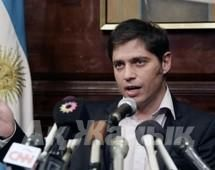 Argentina's Economy Minister Axel Kicillof said the government would ''respect the parameters of the law''.