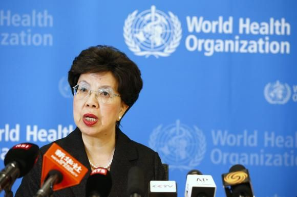 World Health Organization (WHO) Director-General Margaret Chan addresses the media after a two-day meeting of its emergency committee on Ebola, in Geneva August 8, 2014.