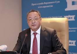 Beknazarov Bektas, ex-chiarman of Supreme Judicial Council