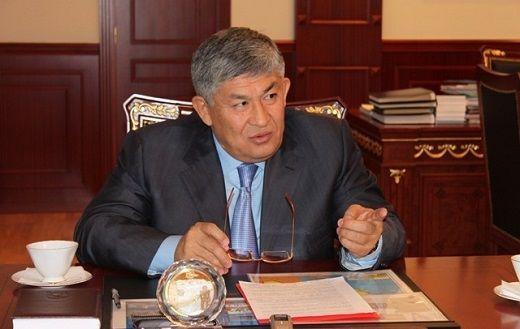 Kyzylorda Oblast Governor Krymbek Kusherbayev